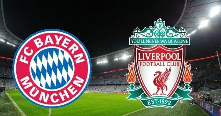 Bayern Münih Liverpool maçı ne zaman saat kaçta yayınlanacak? Bayern Münih Liverpool canlı izle