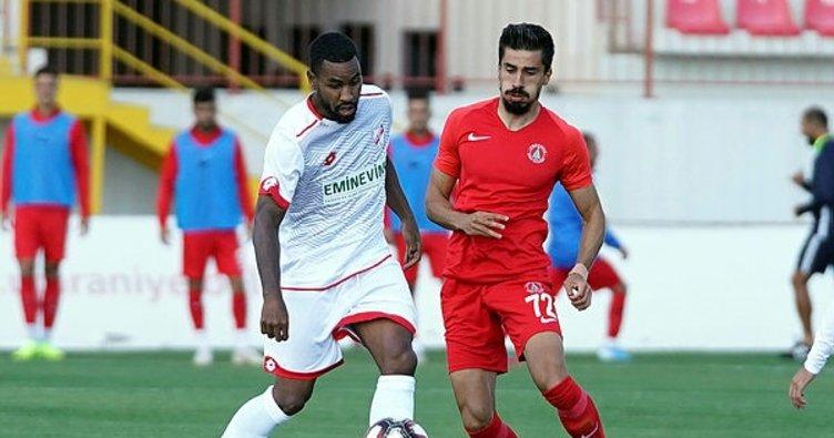 Cesar Grup Ümraniyespor-Boluspor: 1-1