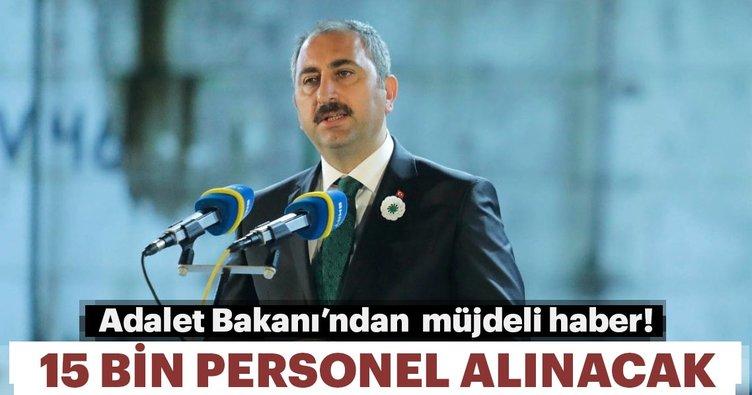 Adalet Bakanı Abdülhamit Gül'den flaş açıklama