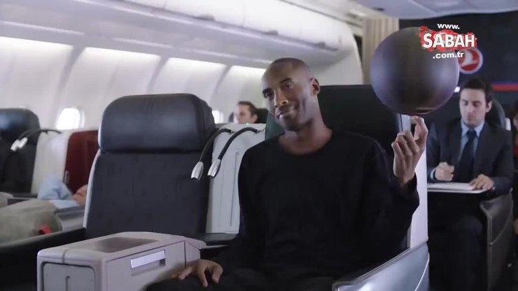 Kobe Bryant Türk Hava Yolları'nın reklamında yer almıştı