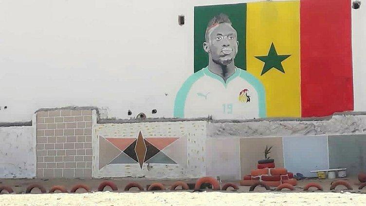 Mbaye Diagne Senegal'deki okulunu yeniletti!