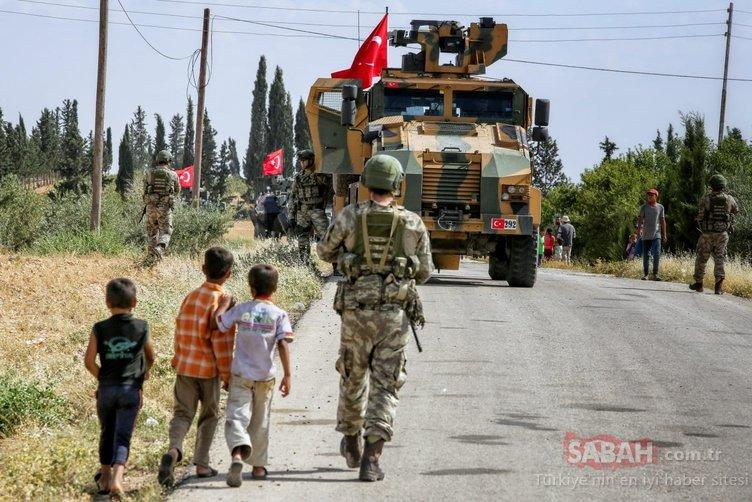 Menbiç'te Türk askerine sevgi seli
