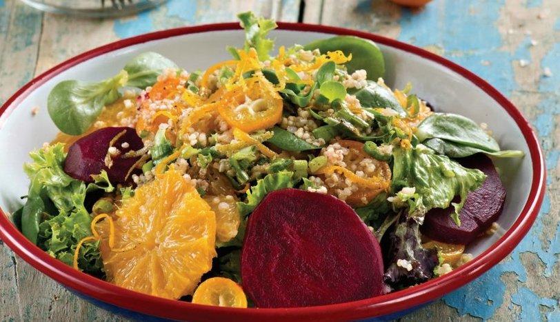 Kumkuatlı Pancarlı Salata