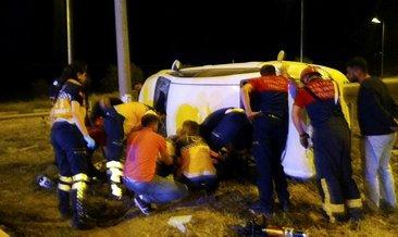 Üniversiteliler kaza yaptı: 2 ölü, 5 yaralı