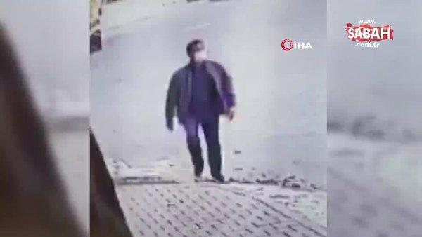 Mersin'de evlerin kapı kilit göbeğini sökerek hırsızlık yapan şahıs tutuklandı | Video