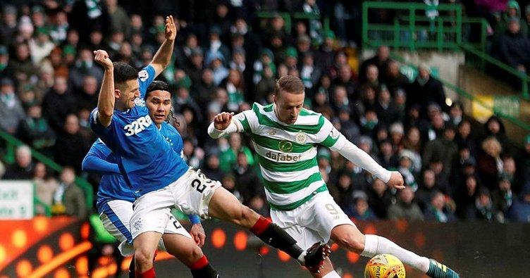 Celtic-Rangers derbisinde gol sesi çıkmadı
