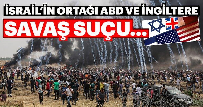 İsrail, sivil gösterileri hedef alarak savaş suçu işliyor