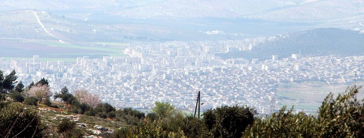 Son dakika haberi: TSK birlikleri Afrin'in tepelerinde
