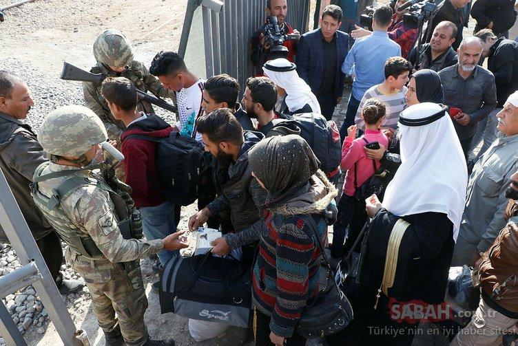 Suriyeliler, Barış Pınarı Harekatı ile terörden temizlenen evlerine geri döndü