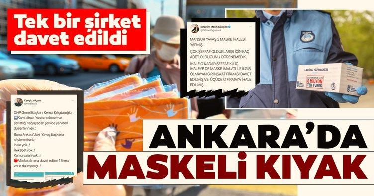 Ankara Büyükşehir Belediyesi'nde maskeli kıyak