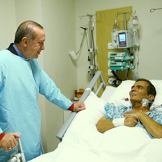 Cumhurbaşkanı Erdoğan, Naim Süleymanoğlu`nu ziyaret etti!