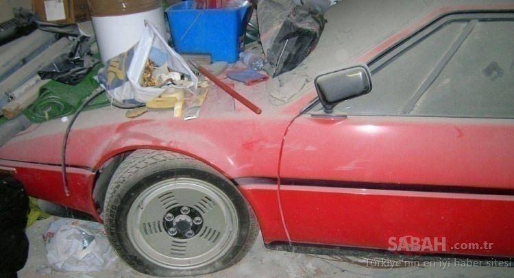 BMW'nin çok az sayıda ürettiği nadir arabası ortaya çıktı! Otomobil yıllarca orada kalmış