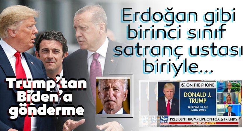 Son dakika haberi: Trump'tan Erdoğan açıklaması! Erdoğangibi birinci sınıf satranç oyuncusu...