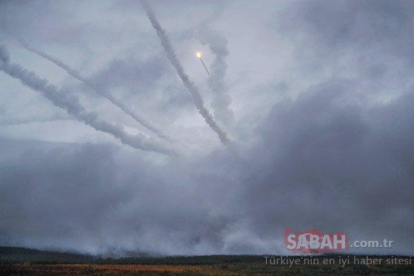 Rusya füzeleri ateşledi!