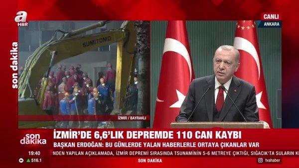 Başkan Erdoğan'dan muhalefete tepki: