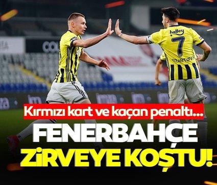 Son dakika: Fenerbahçe Başakşehir'de hata yapmadı! Liderle puan farkı 2'ye indi…