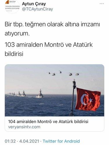 Son dakika haberi: CHP ve İYİ Parti'den 104 emekli amiralin skandal 'darbe' bildirisine destek - Son Dakika Haberler