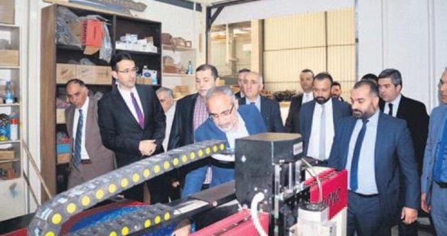 Topçu, Ankara'nın sanayicisiyle el ele