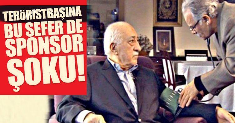 Teröristbaşı Gülen'e bu sefer sponsor şoku