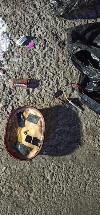 Son dakika: Polis faciayı önledi! 3 parça halinde bomba...