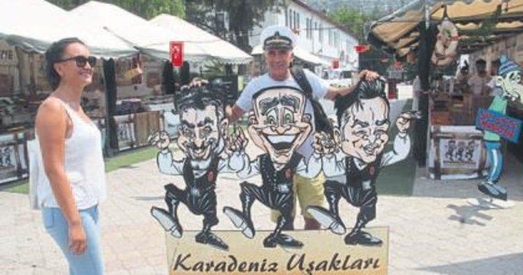 Karadeniz lezzetleri Fethiye'de tadıldı