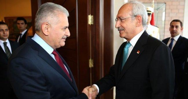 Başbakan-Kılıçdaroğlu görüşmesi sona erdi