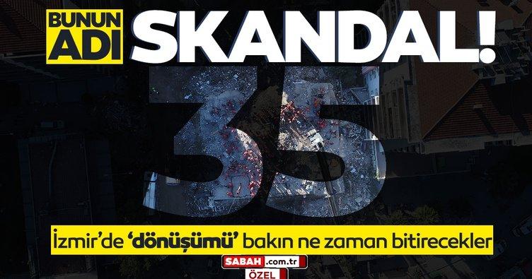 Son dakika haberi: İzmir'de kentsel dönüşüm skandalı gün yüzüne çıktı! İzmirli bakın kaç yılında güvende olacak...