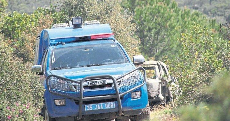 Torbalı'da iş adamını ailesi diri diri yaktı