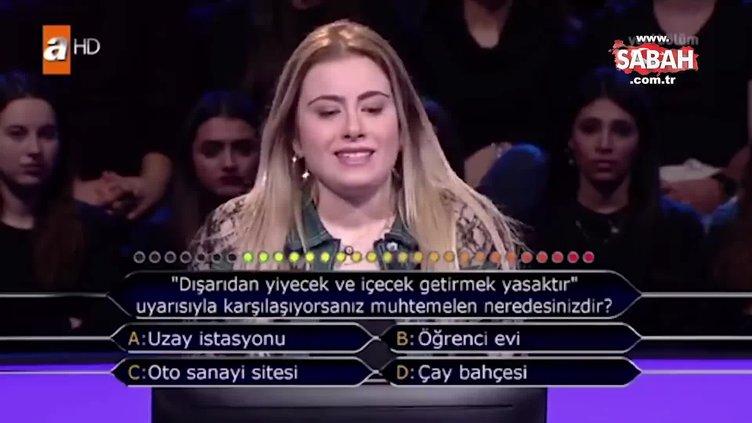 Milyoner'de aşırı heyecanlı yarışmacı ilk soruda elendi
