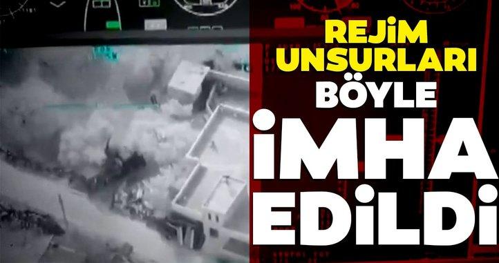 Son dakika! Rejim unsurları böyle imha edildi! İdlib'den yeni görüntüler