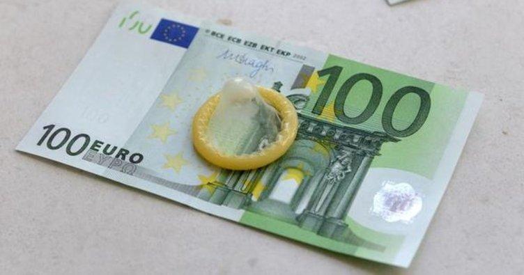 Midesinden prezervatif içinde 79 bin euro çıktı!