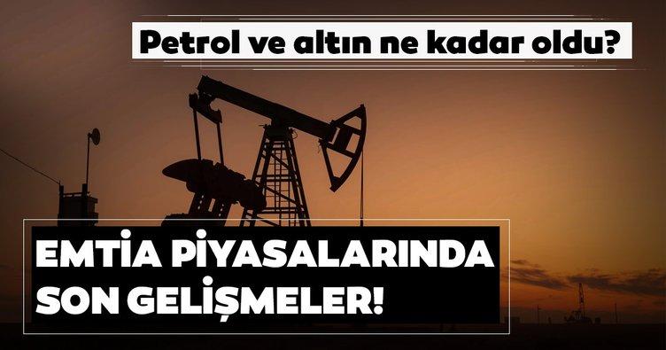 Son dakika: Petrol ve altın fiyatı ne kadar oldu? Emtia piyasalarındaki gelişmeler...