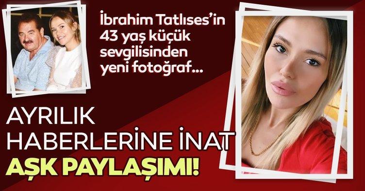 İbrahim Tatlıses'in 43 yaş küçük sevgilisi Gülçin Karakaya'dan ayrılık haberlerine inat aşk paylaşımı!