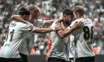 Beşiktaş evinde coştu, 3 puanı 3 golle aldı