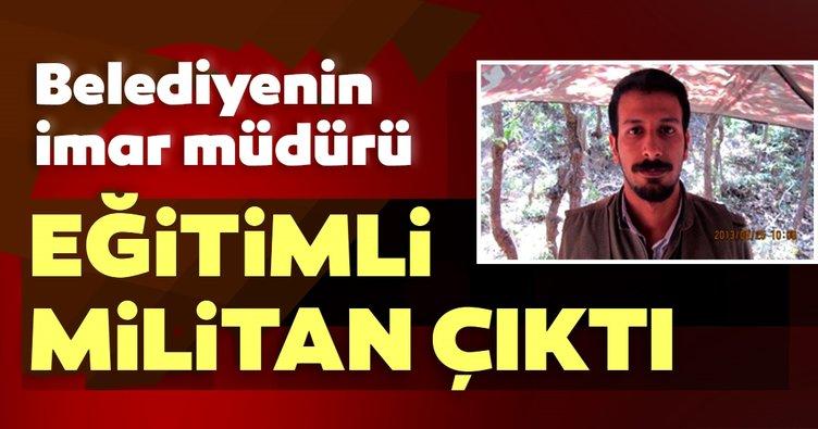 HDP'nin imar müdürü eğitimli militan çıktı