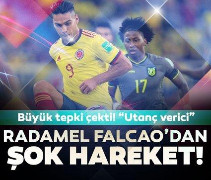 Son dakika haberleri: Radamel Falcao'dan şok hareket! Büyük tepki çekti! Utanç verici