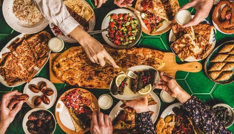 En ünlü iftar menüleri