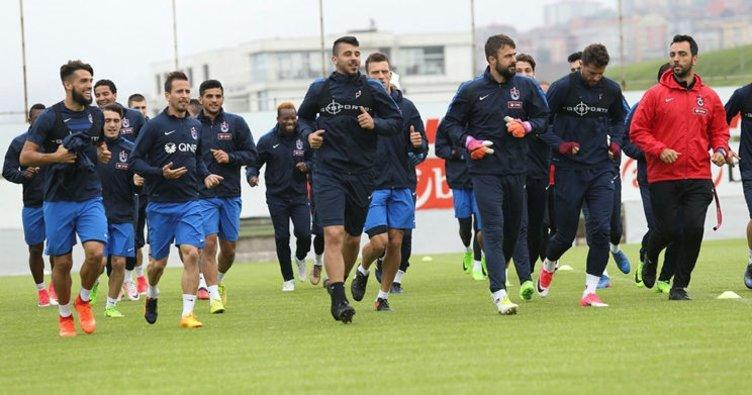 Trabzonspor'da dev kadro