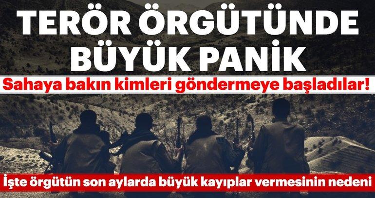 Terör örgütünde büyük panik! İşte son aylarda PKK'nın büyük kayıplar vermesinin nedeni