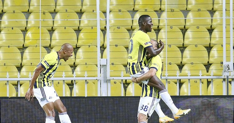 Son dakika: Fenerbahçeli Samatta'dan şampiyonluk sözleri
