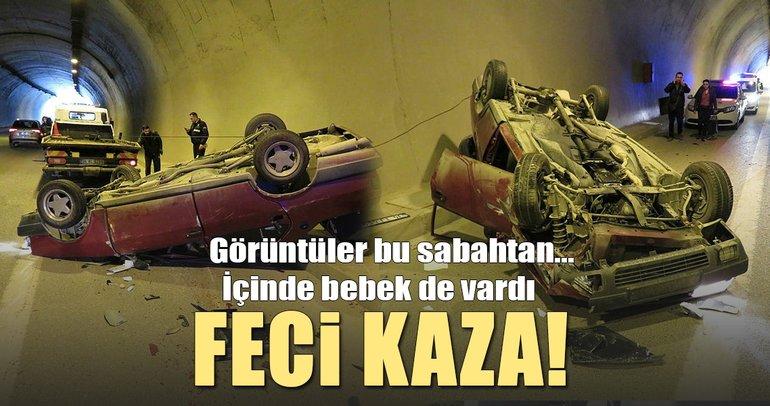 İstanbul Üsküdar'da zincirleme kaza! Araçlardan birisi takla attı
