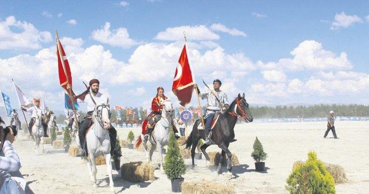 Türk Oyunları Festivali'ne 30 ülkeden ziyaretçi
