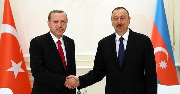 Son dakika: Azerbaycan Cumhurbaşkanı İlham Aliyev'den Başkan Erdoğan'a bayram telefonu
