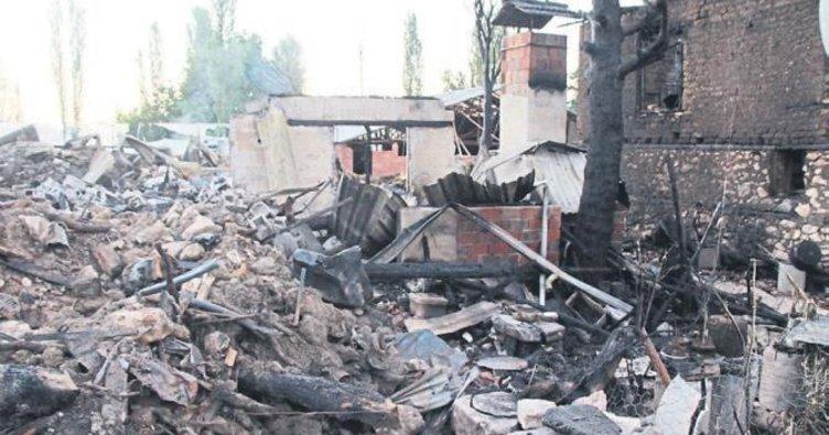 Başsavcı'nın evi de yangında kül oldu