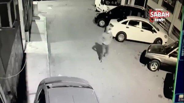 Şanssız hırsızlar kamerada! Gezmek için çaldıkları ilk aracın aküsü, ikincisinin yakıtı bitti. Üçüncü araca yakıt alıp gezdiler | Video