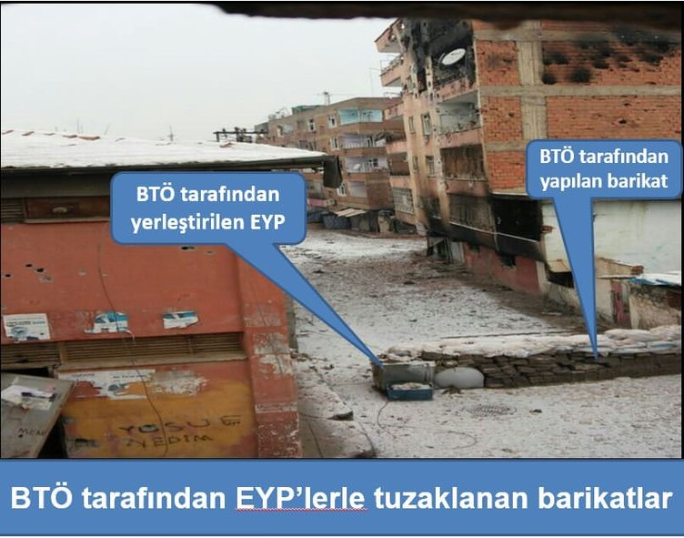 PKK'lılar kaçtıkları yerleri patlattı!