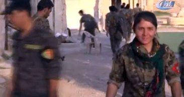 İşte PKK'nın Sincar'daki üsleri! Böyle görüntülendiler