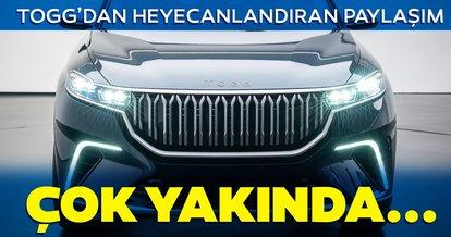 TOGG'dan Türkiye'nin Otomobili'ne ilişkin yeni paylaşım