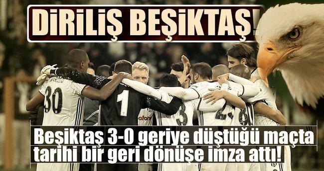 Beşiktaş'tan tarihi geri dönüş! 3-0'dan 3-3!