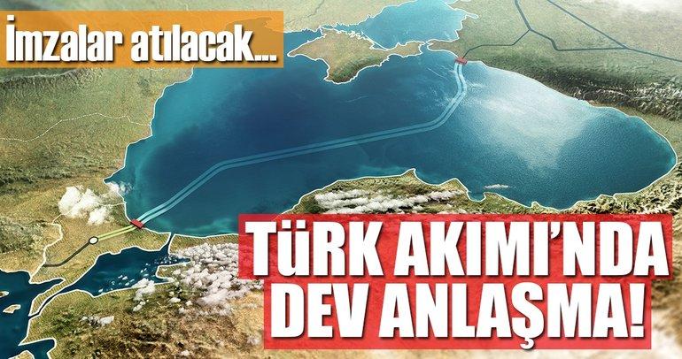 Son dakika: Gazprom ve BOTAŞ'tan Türk Akımı'nda ortak girişim